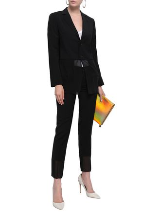 EACH X OTHER Georgette-paneled woven blazer