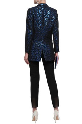 EACH X OTHER Metallic brocade blazer