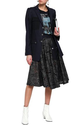 EACH X OTHER Pinstriped wool-twill blazer