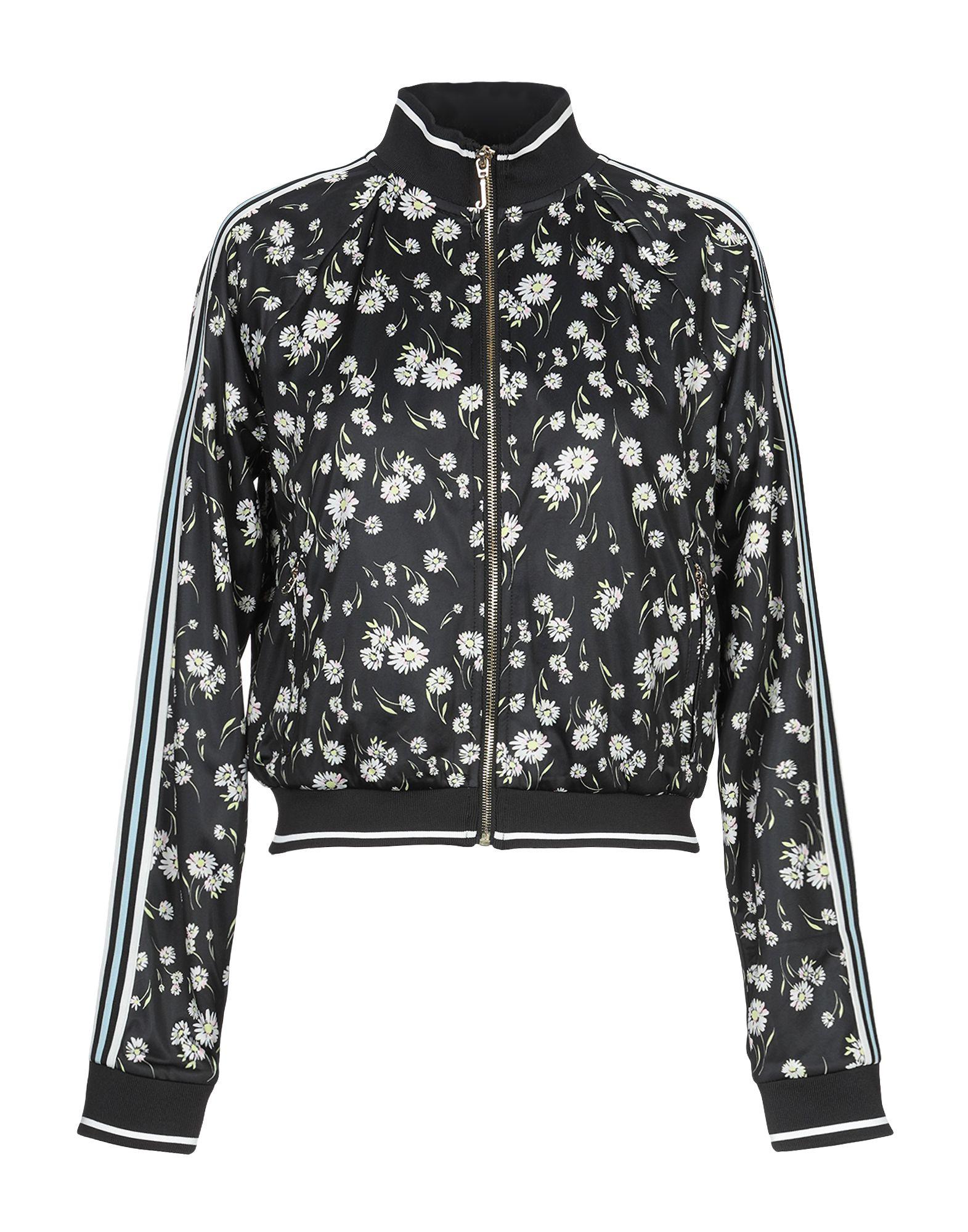 《送料無料》JUICY COUTURE レディース スウェットシャツ ブラック XS ポリエステル 100%