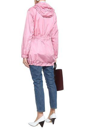 THEORY Sharya shell hooded jacket