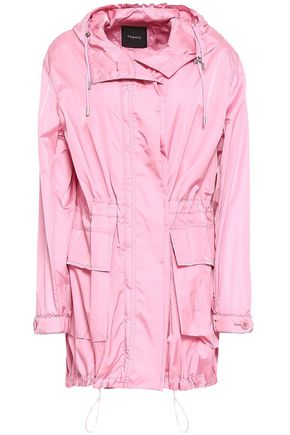 THEORY Sharya shell hooded jacket