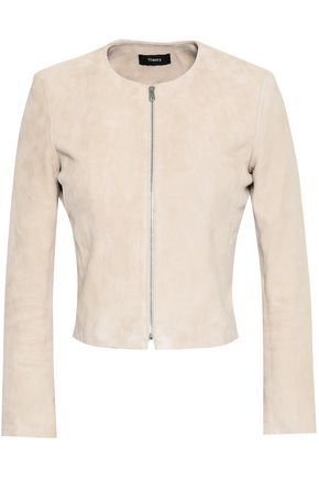 THEORY Suede jacket
