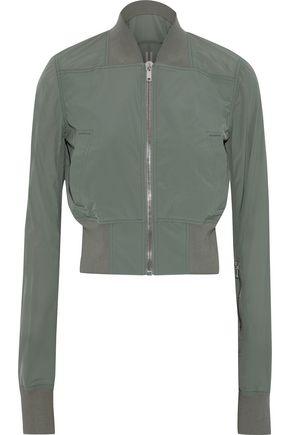 RICK OWENS Shell bomber jacket
