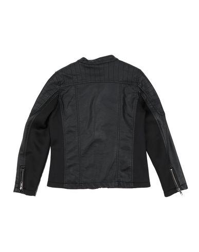Фото 2 - Куртку черного цвета