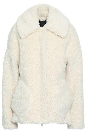 THEORY Faux shearling coat