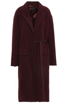 Belted Wool And Cashmere Blend Felt Coat by Joseph