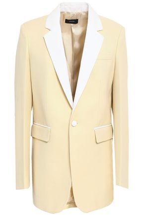 JOSEPH Wool-piqué blazer