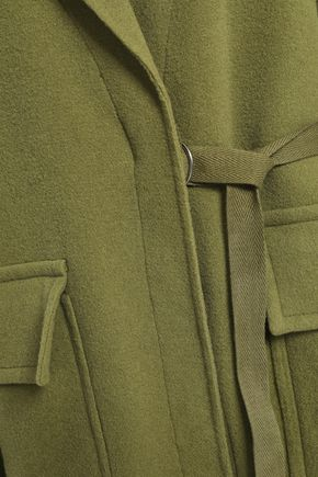 JOSEPH Silla buckled wool and cashmere-blend coat