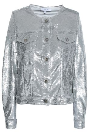 IRO Sequined woven jacket