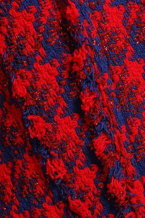 IRO Quilombe metallic houndstooth tweed jacket