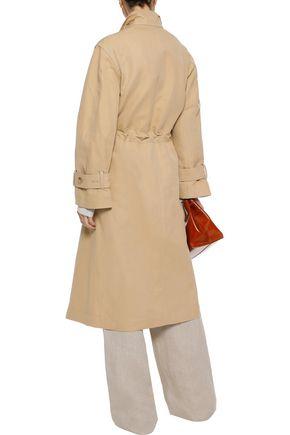 VINCE. Cotton and linen-blend gabardine trench coat