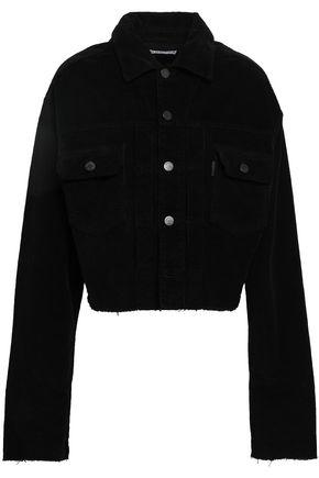 FIORUCCI Frayed corduroy jacket