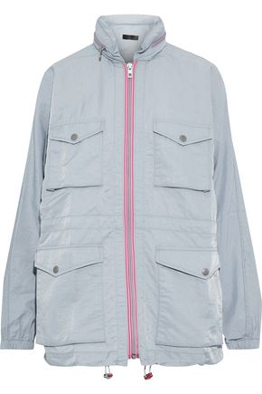 RAG & BONE Minke crinkled-shell hooded jacket