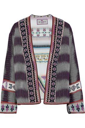 ETRO Embellished jacquard jacket