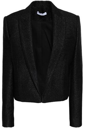 IRO Cholanja cropped metallic tweed blazer