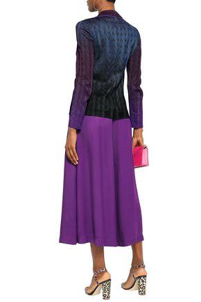 MISSONI Dégradé crochet-knit blazer
