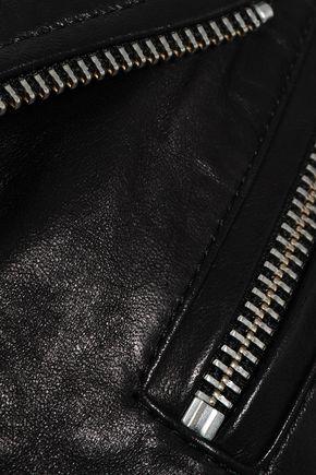 IRO Noreta studded leather biker jacket