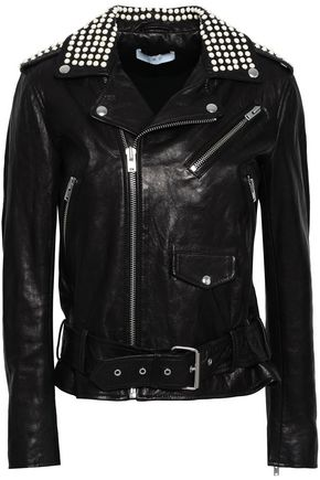 IRO Noreta studded leather biker jacket