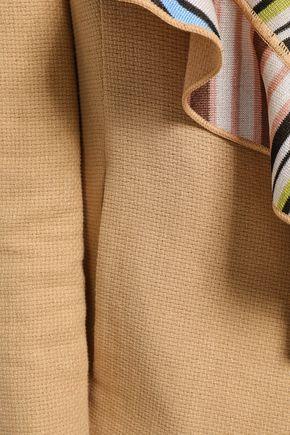 MISSONI Ruffled stretch-knit jacket