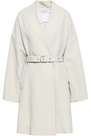 IRO Melana belted canvas coat