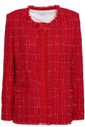 IRO Quespo wool-blend tweed jacket