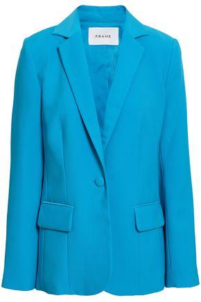 FRAME Stretch-crepe blazer