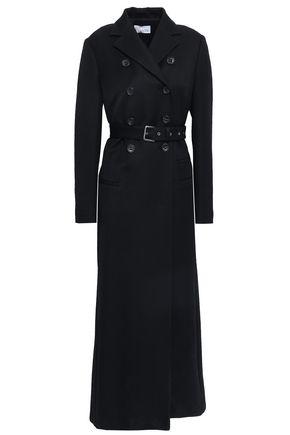 REDValentino Double-breasted gabardine trench coat