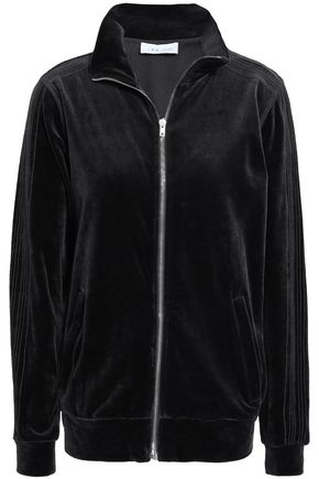 IRO Cotton-blend velvet jacket