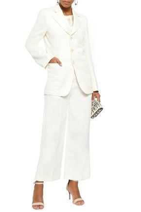 JOSEPH Genova cotton and ramie-blend blazer