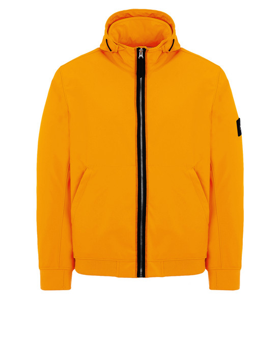 STONE ISLAND Куртка 43427 LIGHT SOFT SHELL-R FLUO
