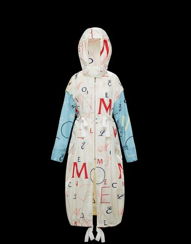 Moncler View all Outerwear Woman: STONE