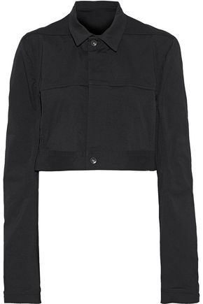 RICK OWENS Little Joe cropped denim jacket