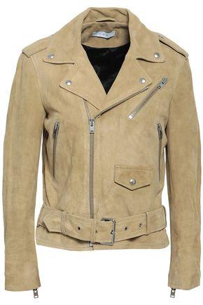 IRO Guape nubuck biker jacket