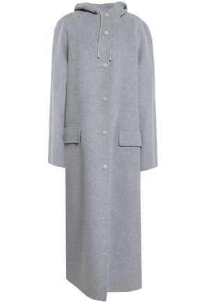 JOSEPH Wool and cashmere-blend hooded coat