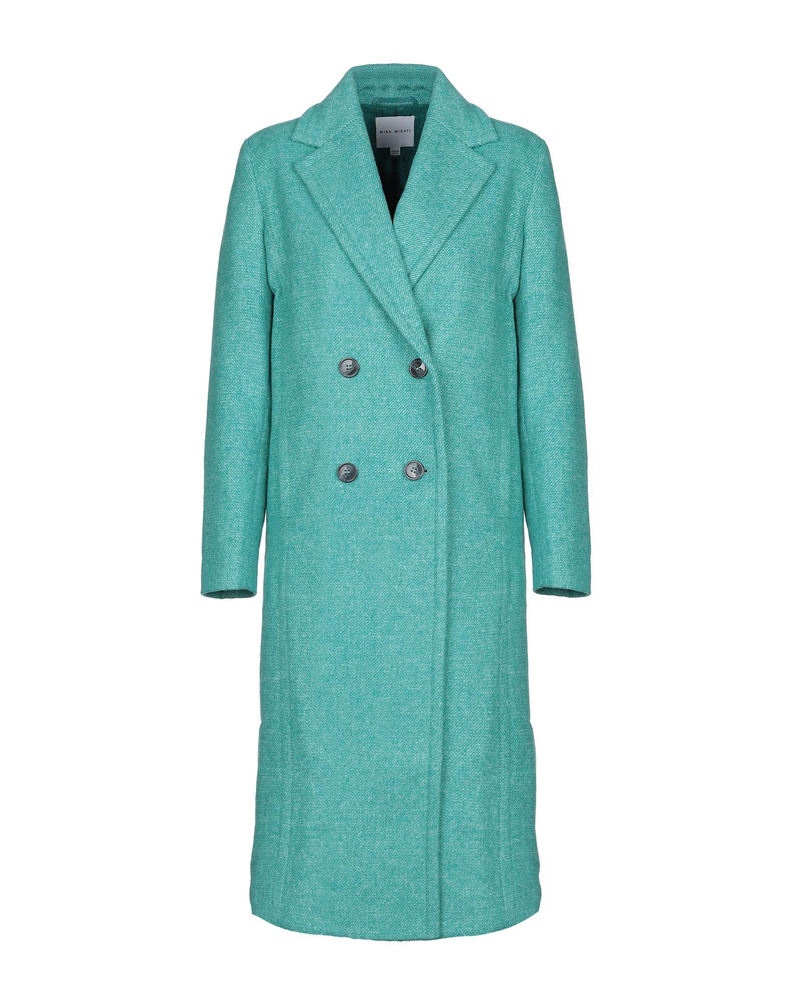 MIRA MIKATI Пальто mira mikati хлопковая рубашка с вышивкой на спине