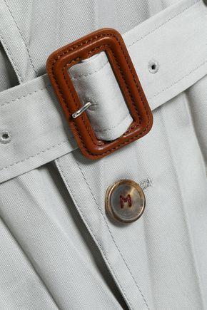 MAISON MARGIELA Belted twill trench coat
