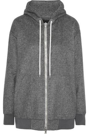 ALEXANDER WANG Oversized fleece hoodie