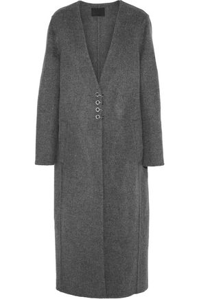 ALEXANDER WANG Wool and cashmere-blend felt coat