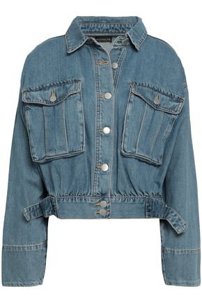 NICHOLAS Faded denim jacket
