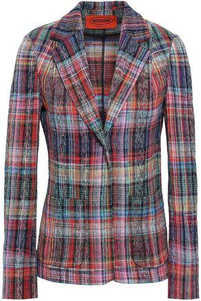 MISSONI Checked cotton blazer