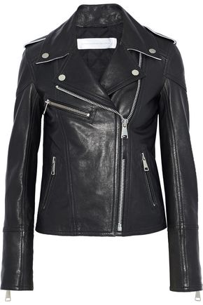 VICTORIA, VICTORIA BECKHAM Leather biker jacket