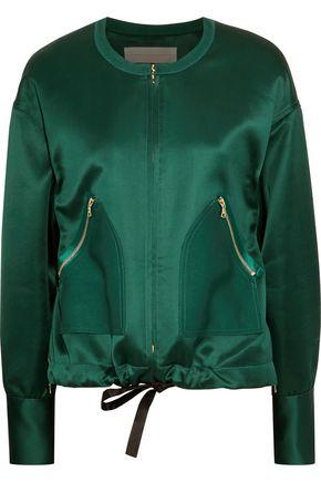 VICTORIA, VICTORIA BECKHAM Satin jacket