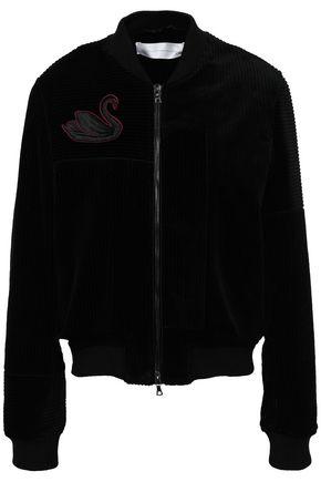 VICTORIA, VICTORIA BECKHAM Cotton-corduroy bomber jacket
