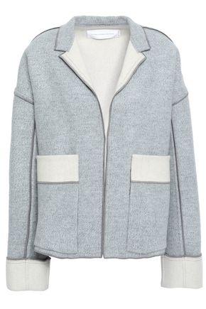 VICTORIA, VICTORIA BECKHAM Mélange wool and cashmere-blend felt jacket