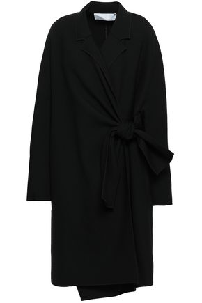 VICTORIA, VICTORIA BECKHAM Double-breasted twill coat