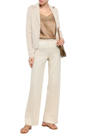 MISSONI Crochet-knit blazer