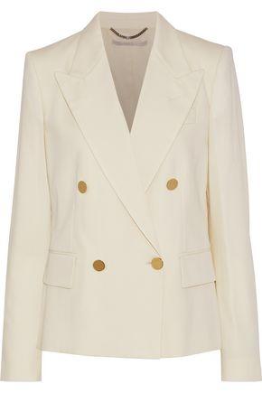 STELLA McCARTNEY Emery double-breasted wool-twill blazer