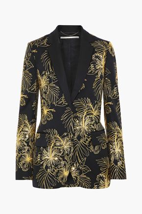 STELLA McCARTNEY Embellished wool blazer