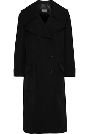 MAISON MARGIELA Double-breasted gabardine coat